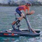 Тримаран-велосипед RedShark от Д. Рубау